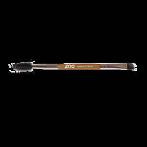 ZAO Duo Eyebrow Brush