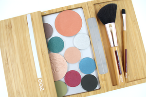 ZAO Refillable Magnetic Bamboo Box Large